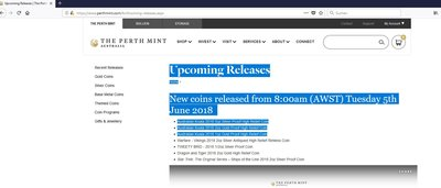 Perth Mint news for June 2018.JPG