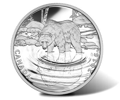 Canadian-2016-Grizzly-Bear-Wildlife-Reflections-Silver-Proof-Coin.jpg