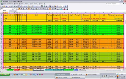 Excel Tabelle Online Verwalten