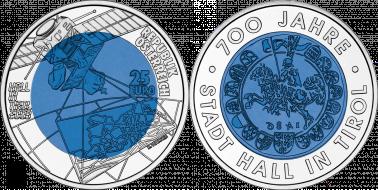 25euro Silber Niob Münzen Serie Faszination Technik Silberde